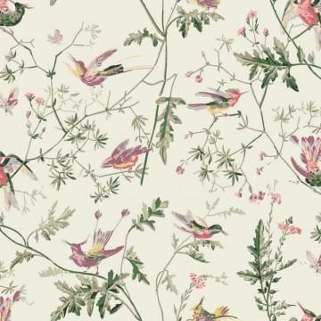 Hummingbirds 100% Cotton F62-1001