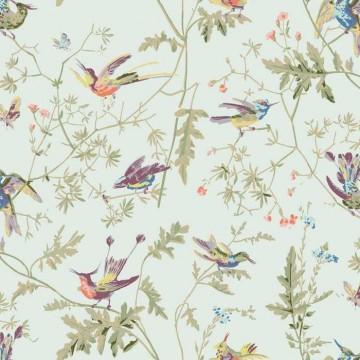 Hummingbirds 100% Cotton F62-1004